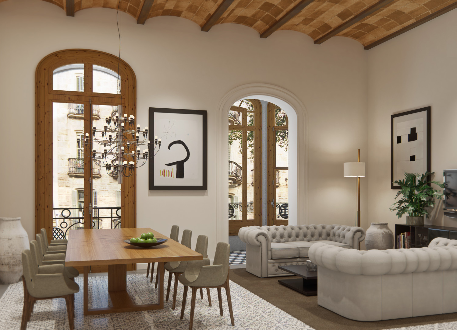 Exclusive Barcelona apartments for sale