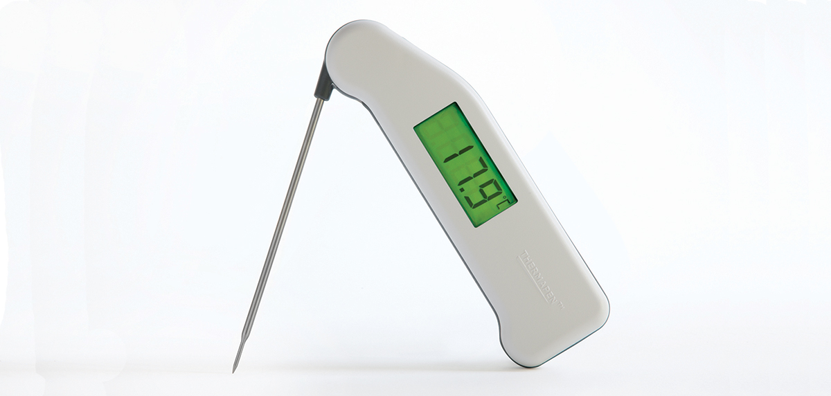Backlit Thermapen thermometer