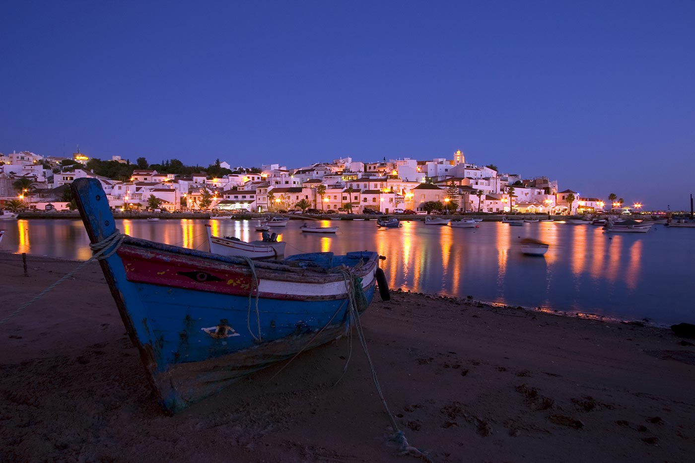 Algarve at night