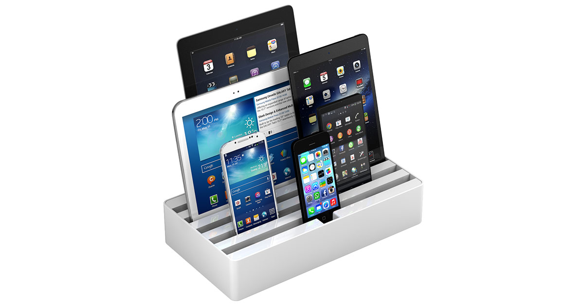 Alldock multi-device charger