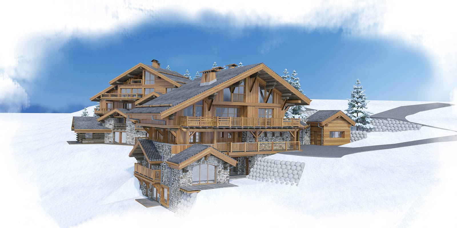 New Méribel ski apartments for sale near town centre
