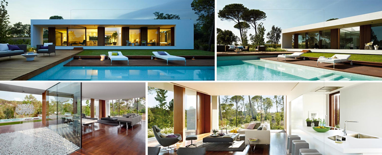 Collage Of PGA Catalunya Golf Property For Sale