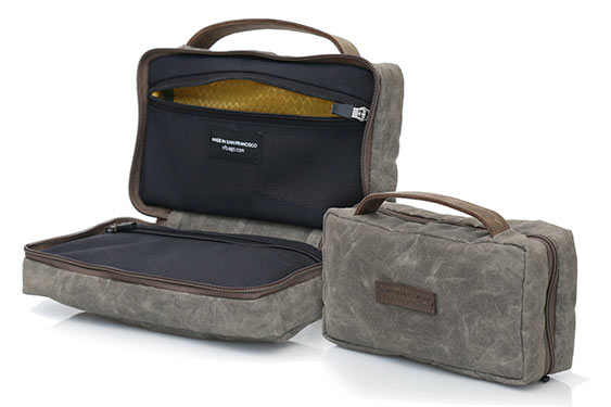 stylish dopp kit from WaterField Designs