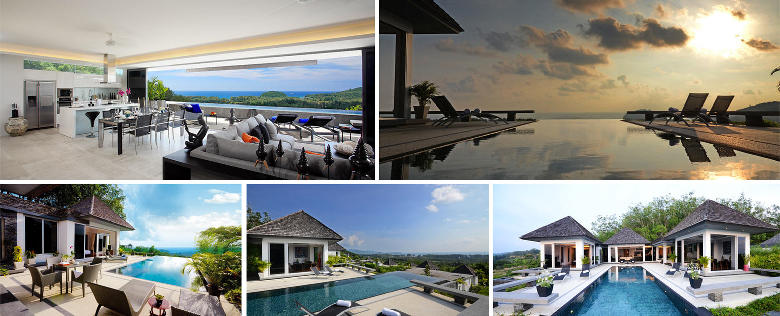 Views from property for sale Layan Beach Phuket