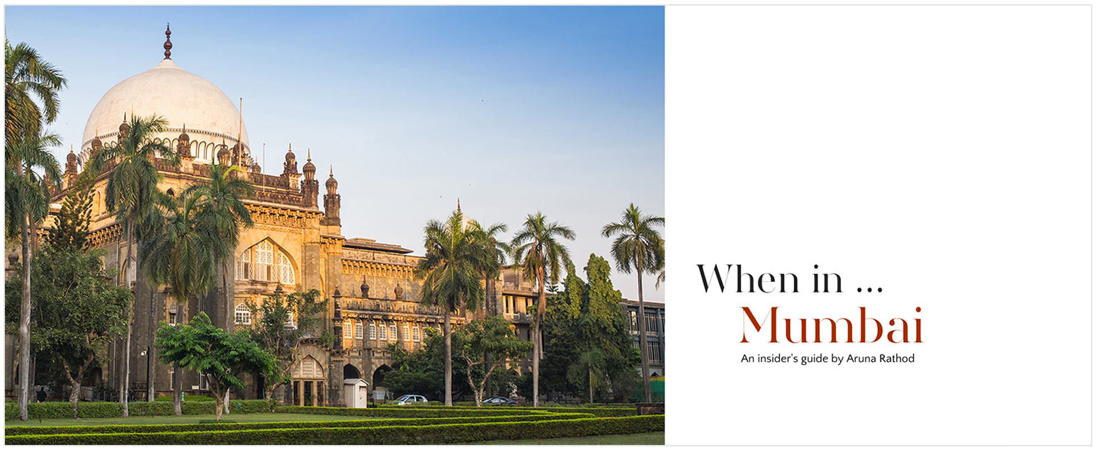 Cover photo for Mumbai food and travel article about hotels, dining and shopping
