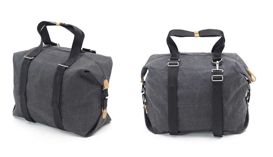 Stylish holdall and travel bag by QWSTION