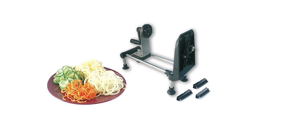Bron Coucke fruit vegetable spiralizer slicer