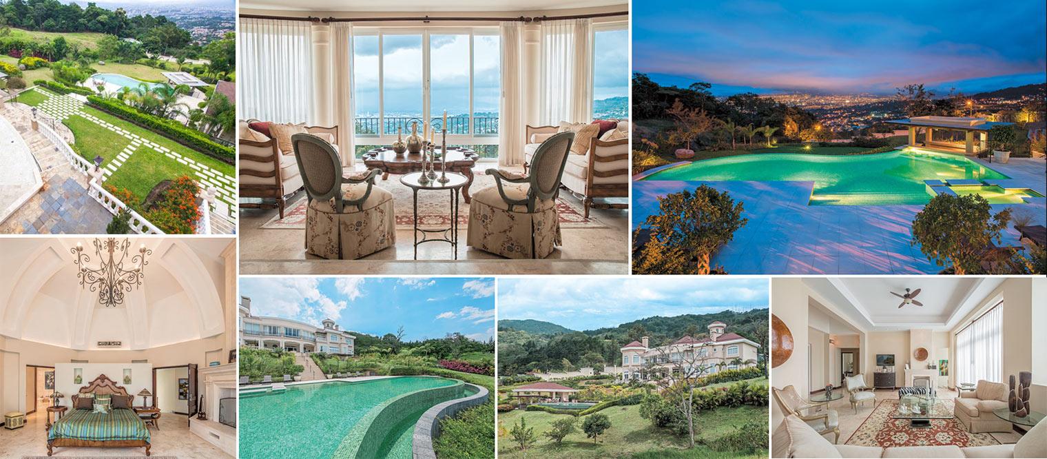 Costa Rica Mansion For Sale In Upmarket Escazu Central Valley # Muebles Konfort Escazu