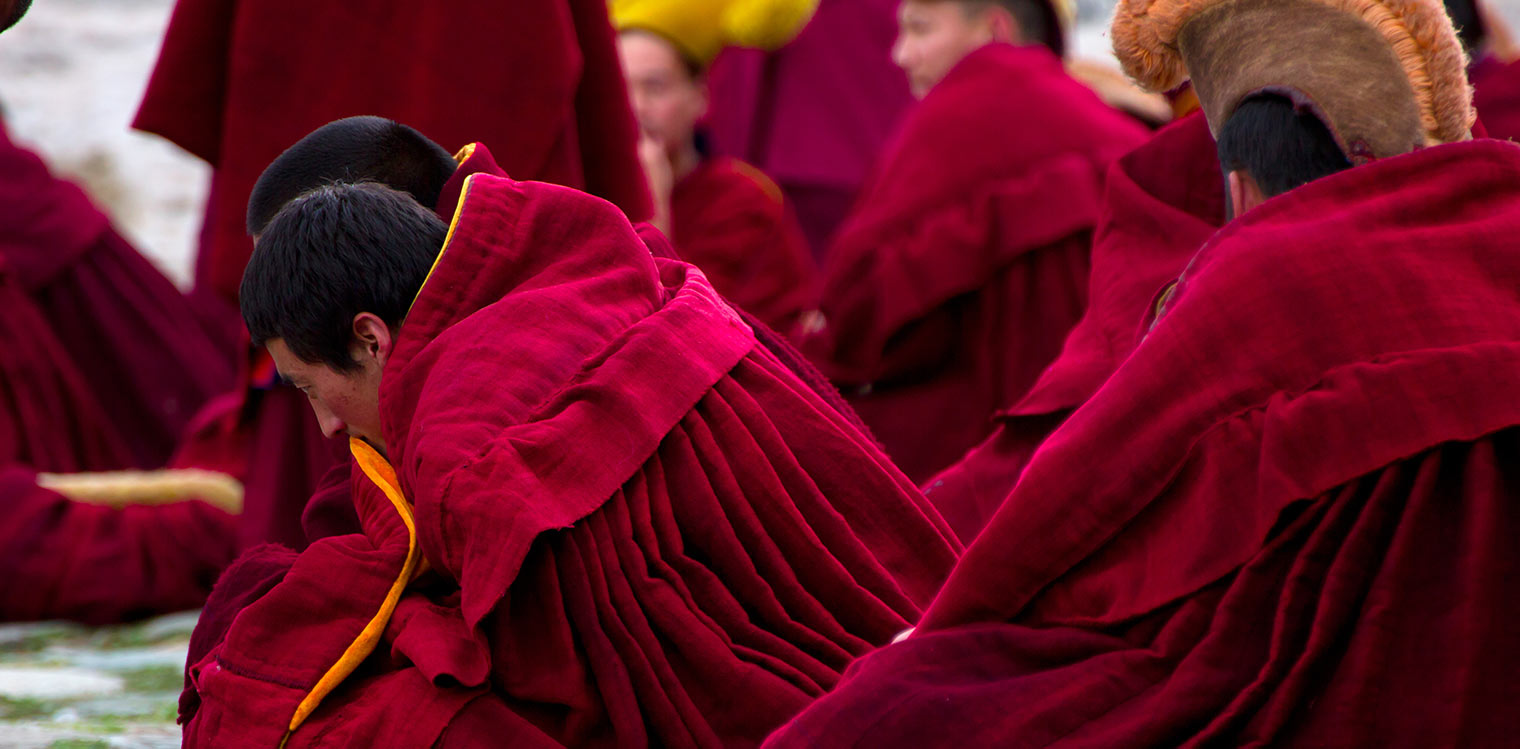 Chines Monks