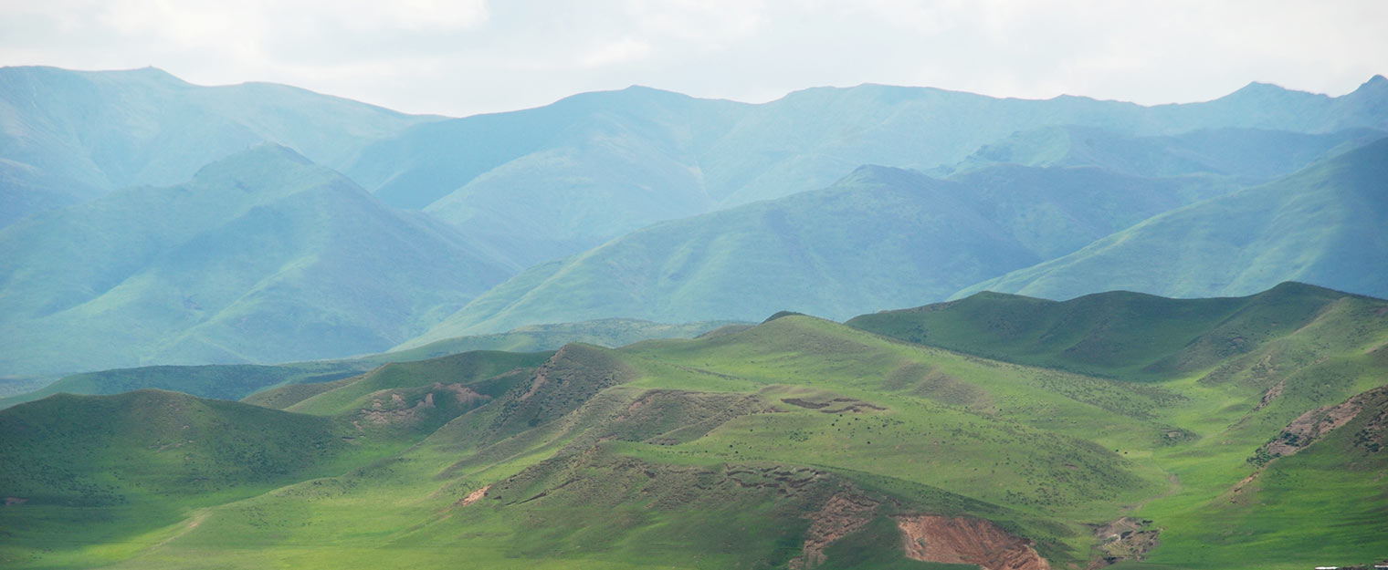 Land of the nomads in Gansu, China