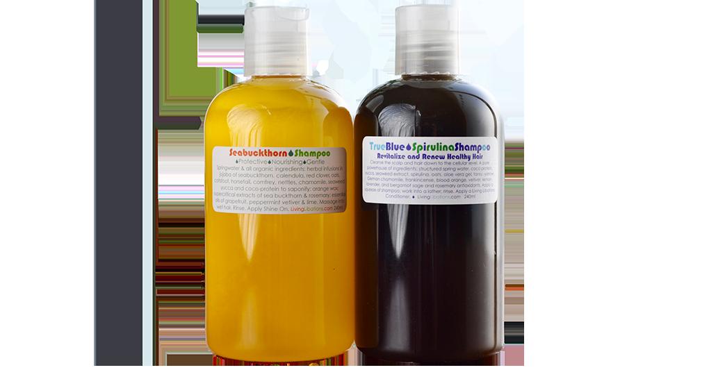 Living Libations natural shampoo conditioner