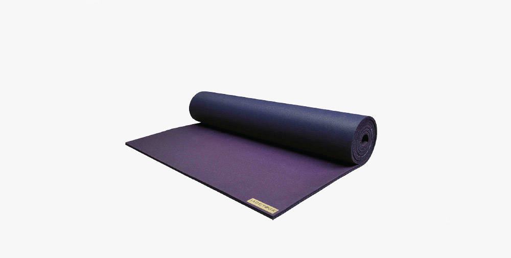 Purple yoga mat from Jade Yoga