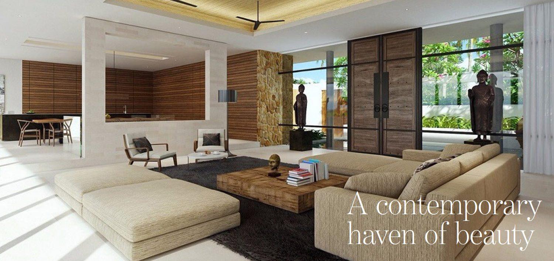 The Address Magazine article spread for new Kamala villa