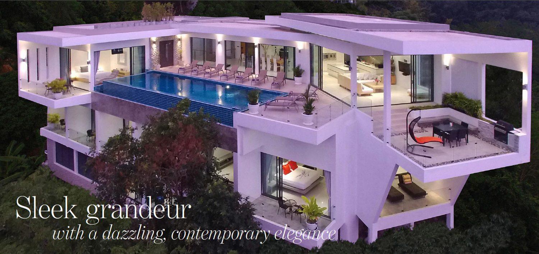 The Address Magazine article cover for Surin villa article
