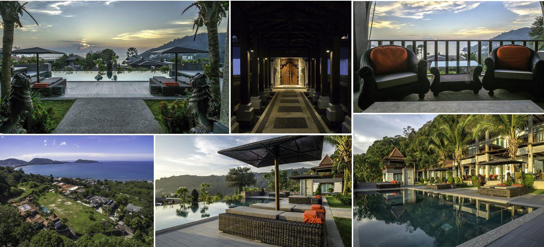 Image collage - elegant villa for sale in Phuket