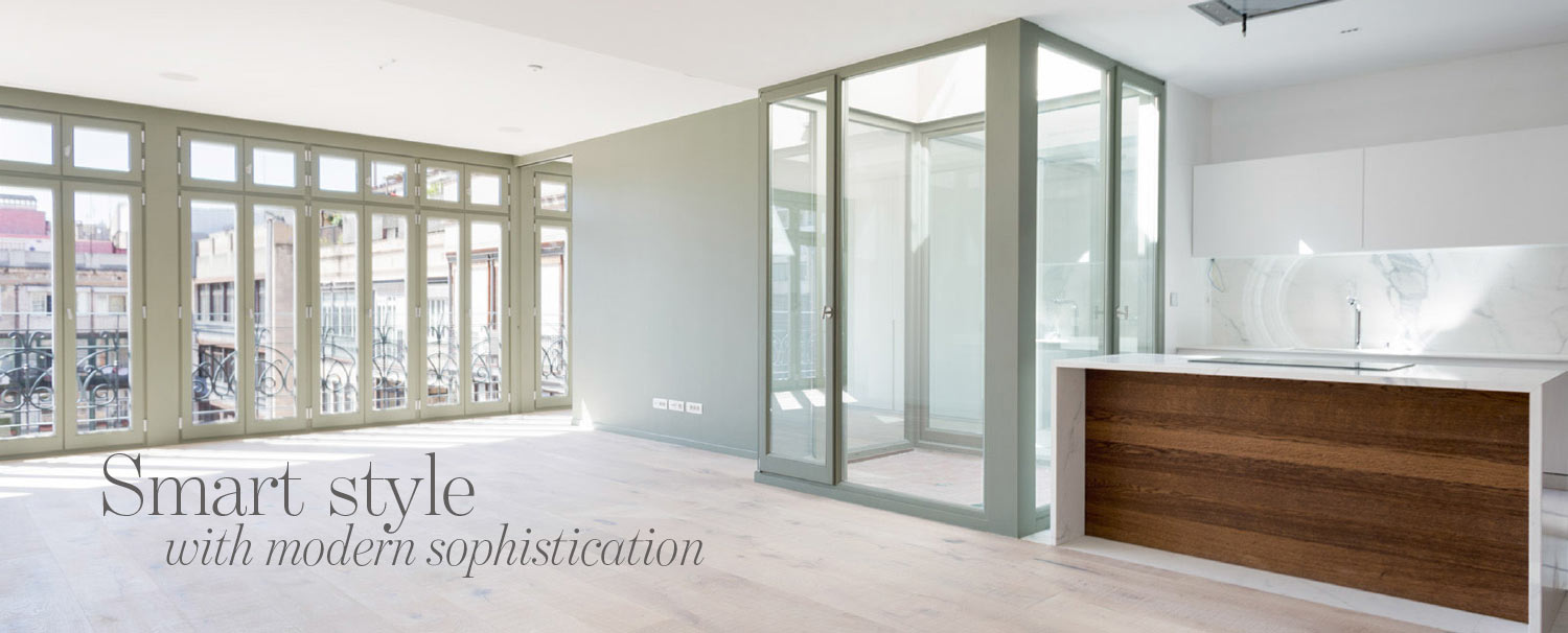 Cover image article in The Address Magazine about new apartment in Eixample in Barcelona