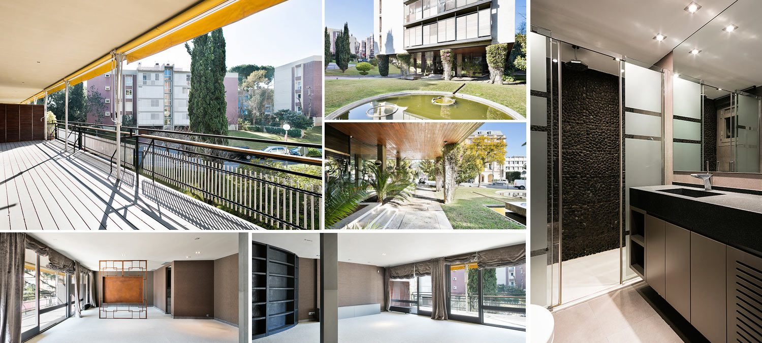 Image gallery apartment in Pedralbes Barcelona
