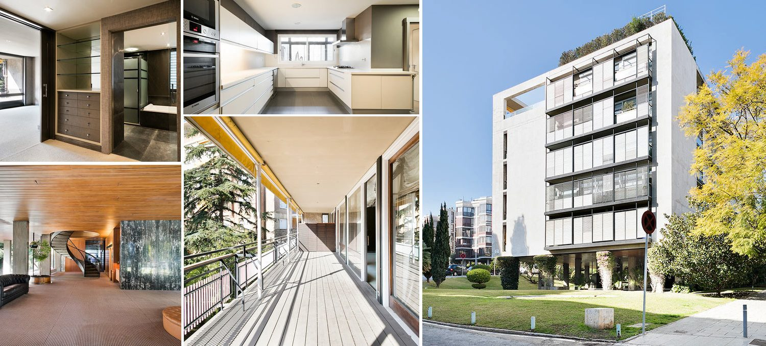 Image collage apartment in Pedralbes