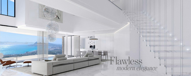 Modern villa interior Costa Blanca