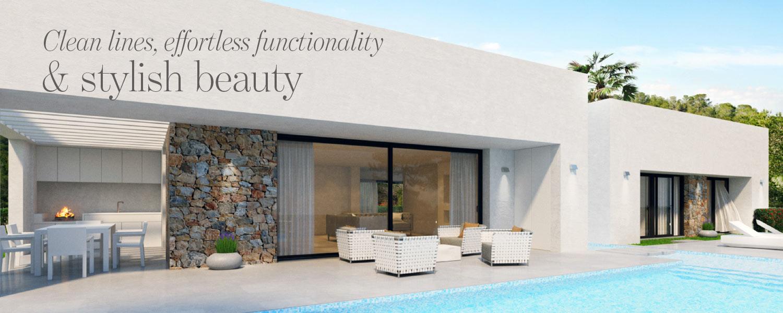 Article spread The Address Magazine - new villa in Costa Blanca