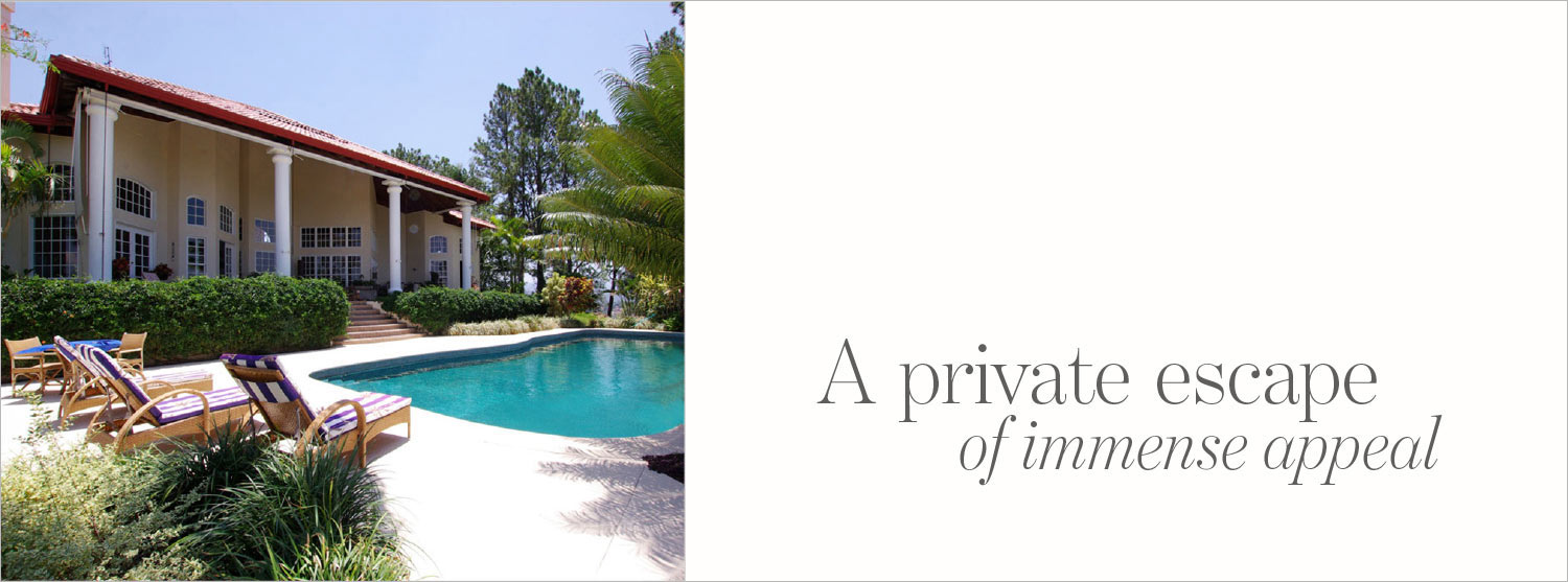 Exclusive property in Alajuela Costa Rica featured in The Address Magazine