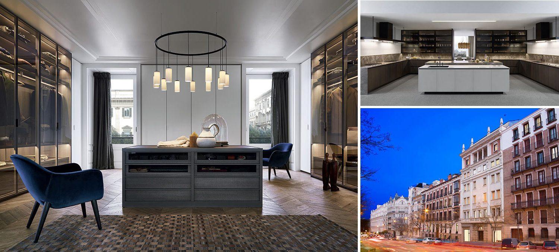 Collage - luxury apartment in Madrid