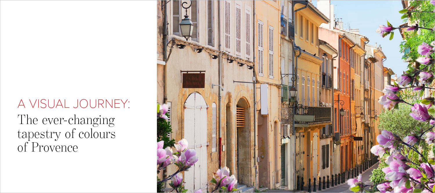 Cover photo for photo feature of Provence in The Address Magazine