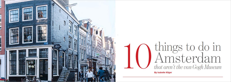 de Pijp area of Amsterdam