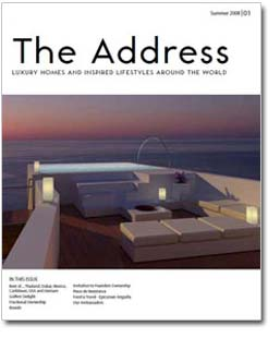 The Address Magazine cover No1