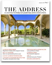 The Address Magazine cover
