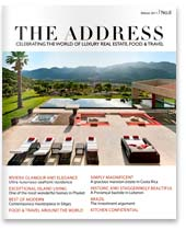 The Address Magazine cover